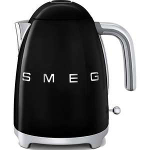 SMEG KETTLE KLF01BLUK Traditional 50's Style 1.7 Litres 3kW Kettle in Black ONLY £79.99 USING VOUCHER @ co-op electrical / Ebay