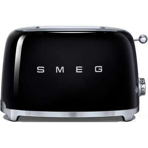 SMEG TSF01BLUK 50's Style 2 Slice Wide Slot Toaster with Defrost Function ONLY £79.99 USING VOUCHER @ Co-op electrical / Ebay