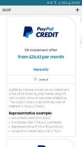 Paypal 0% On Again at Samsung Store - S7 Edge 6/12/18/24 Interest Free Payments