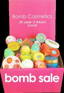 £50 worth of bomb cosmetic products for £24 plus free delivery