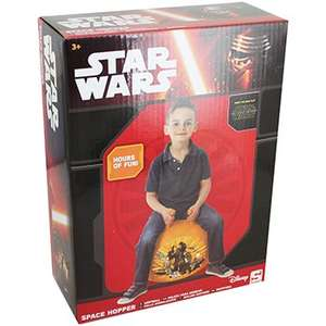 Star Wars Space Hopper was £7 now £3.50 C+C (or FREE Delivery with code wys £10) @ The Works (half term half price event inc Splat £5, Bop Bags £2)