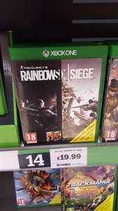 Rainbow Six Siege PS4/Xbox One £19.99 instore @ sainsburys
