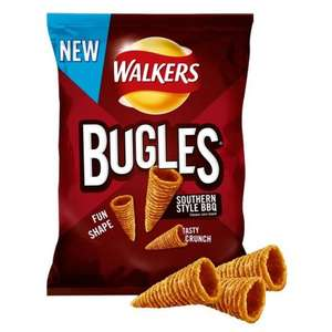 Walkers Bugles Southern Style BBQ 110g - 99P - @OCADO
