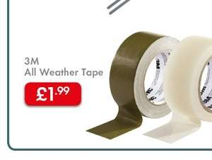 3M All Weather Tape £1.99 @ Lidl from 30th May