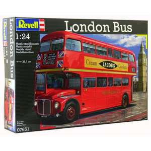 Revell 1:24 Scale London Routemaster Bus / cheapest @ £26.23 delivered Tesco Direct