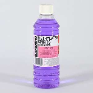 Bartoline Methylated Spirit 500ml only 99p at Home Bargains