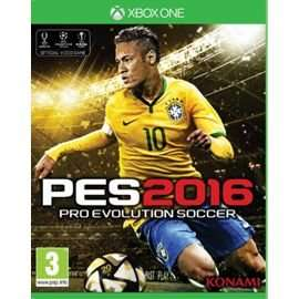 Pro Evolution Soccer 2016 Day one edition £16 at Tesco Direct