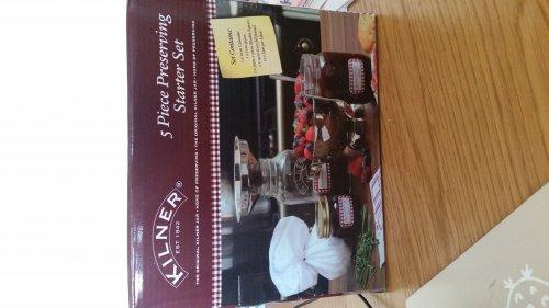 Kilner 5 piece preserving starter set, Homebase £2