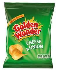 Golden Wonder Crisps, box of 40 packets, £4.00 in Asda