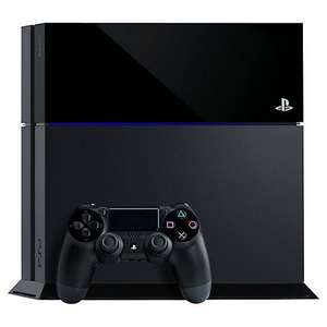 PlayStation 4 Console 1 TB plus free game £299.95 John Lewis
