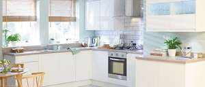 Simply Hygena Kensal White Kitchen  £1919.40 homebase