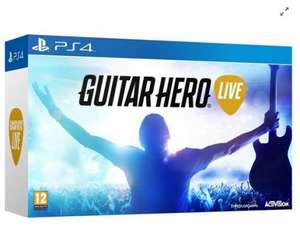 [PS4/Xbox One] Guitar Hero Live (Includes Guitar) - £30.00 (C&C) - Tesco Direct (Clubcard Boost Eligible)