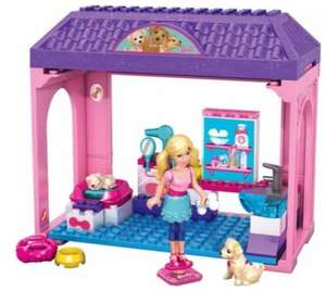 Mega Bloks Barbie Pet Salon £4.99 including delivery @Argos