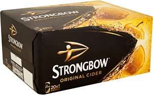 Heads up, strongbow / Carling / Fosters @ Morrisons 20 x 440ml cans £10 starts 31/05/16