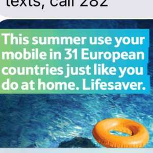 Tesco Mobile, use your data texts and minutes abroad with NO extra cost