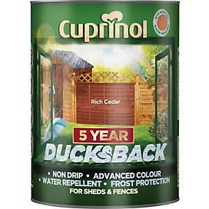 Cuprinol 5 year ducks back Fence Paint 5 Litres BOGOF £14.99 @ Wickes