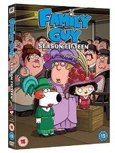Family Guy season 15 DVD £9.99 (prime) £11.98 (Non Prime) @ Amazon