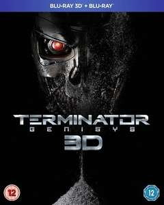 Terminator Genisys - 2D/3D Blu-Ray - £7.20 Delivered with code @ Zoom