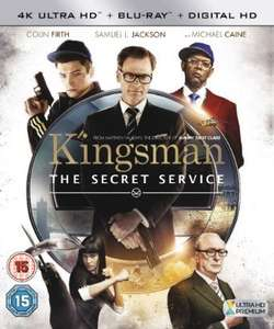 Kingsman 4k Ultra HD Blu Ray £8.99 Amazon Prime or £10.98 non prime