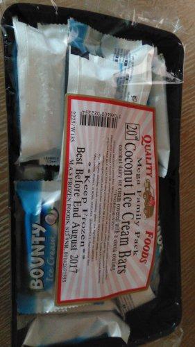coconut ice cream bars £1 @ Home Bargains