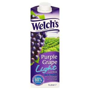 Welch's Purple Grape Juice 1L Carton 35p @ Co-Op Instore