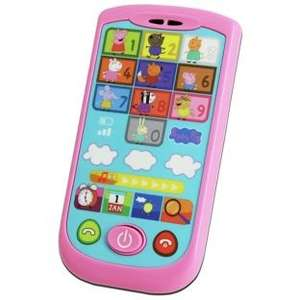 Peppa Pig Listen and Learn Smartphone. Half Price £5 @ Sainsbury