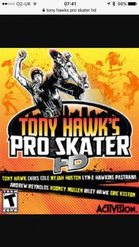 Tony Hawks Pro Skater HD Xbox 360 £3.29 @ Xbox Store