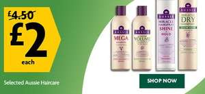 Aussie Hair Products just £2.00 @ Morrisons