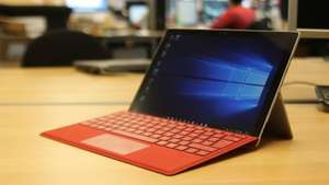 Microsoft SURFACE PRO 4 M3 £691.98 or i5 £771.98 with Red Type Cover, Docking Station and Pen Tip Kit @ Very