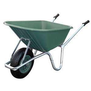 Mucker, plastic wheelbarrow (90L) £51.98 @ Worldstores Cheapest about.