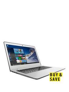 Lenovo Ideapad 500S i5 Processor, 8Gb RAM, 128Gb SSD Hard Drive, 13.3 inch Full HD Laptop - White £319.99 @ Very