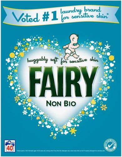 Fairy 2.6kg non bio powder 40 washes £5.50 at sainsburys