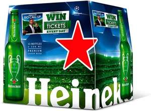 Heineken Lager (12 Bottles x 330ml) was £12.00 now £8.00 @ Morrisons