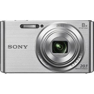 Sony Cybershot W830 20.1MP Compact Digital Camera - In Black, Silver & Purple @ Argos
