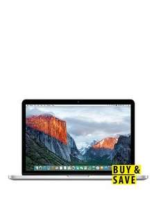 "Apple MacBook Pro with Retina Display 13.3"" 512GB Flash Storage £1079.20 with code @ Very"