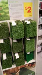 Fake Grass  (Astroturf) Samples £2 @ B&Q