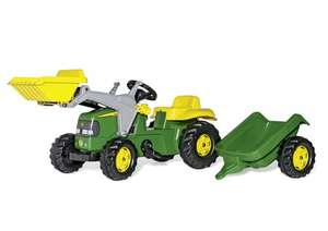 John Deere Ride-on Tractor with Loader and Detachable Trailer £65 delivered at Amazon