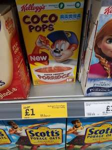 Coco Pops Porridge £1 down from £1.97 @ Morrisons