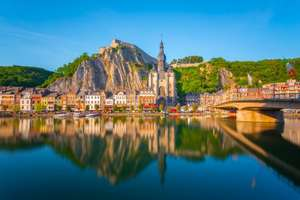 3 days 2 nights in Dinant, Belgium for £100.27 (total 200.53) including flights, beautiful central apartment and car hire @ airbnb