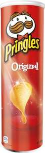 Pringles (Flavours as stocked) At Tesco £1