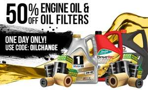 Autosessive 50% off oil and filter