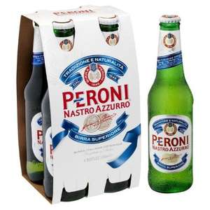 Peroni 4 x 330ml for £5 @ Co-op