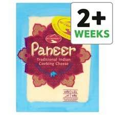 Tesco Everest Paneer(cottage cheese) 226gms now £1 was £1.50