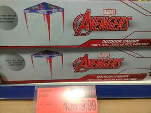 avengers and frozen childrens gazebo instore at B&M for £9.99