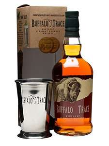 Buffalo Trace 70cl with Julep Tin and Cocktail Book - £22.49 - Amazon