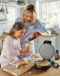 Waffle Cone Maker £12.99 @ ALDI with free delivery