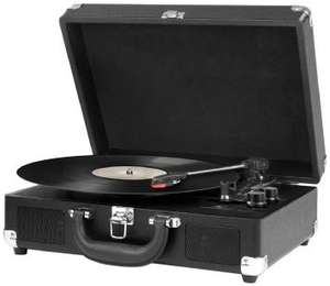 Possible Fathers Day Present - Vintage Suitcase Turntable - Just £29.99 -  From 9th June 2016 (Can Order Now  With Free Delivery)  @ ALDI