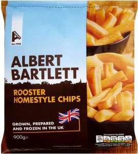 Albert Bartlett Rooster Homestyle Chips (900g) was £1.50 now £1.00 @ Asda