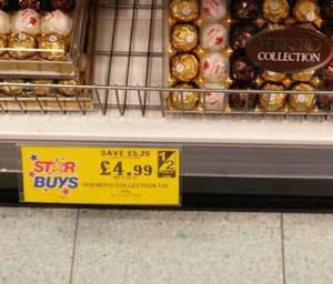 Ferrero Rocher Collection (32's), now £4.99 @ Home bargains