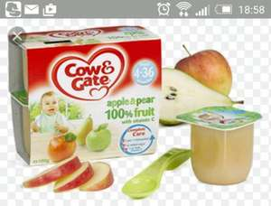 cow and gate fruit pots home bargains 49p